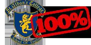 100% de alumnos aprobados curso B2 ingles