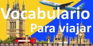 vocabulario para viajar en ingles