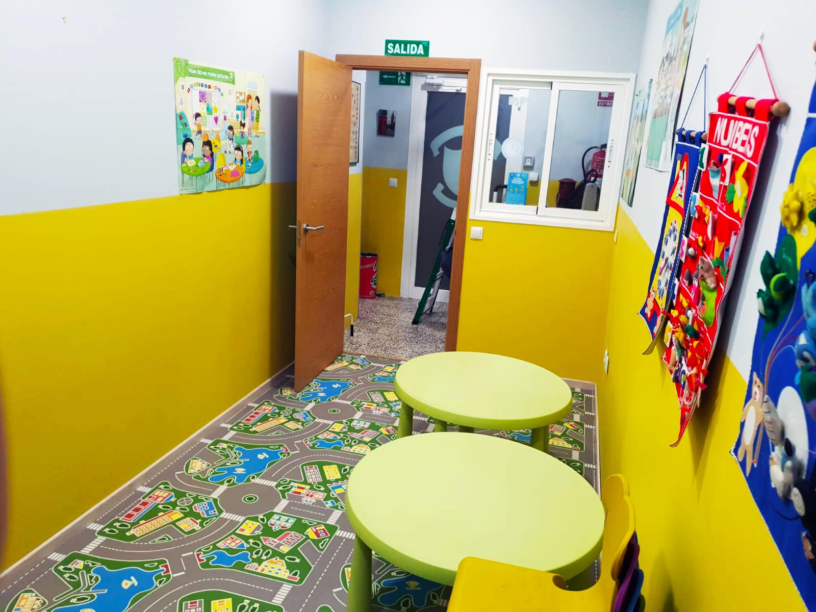 Aula de inglés para niños