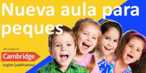 Nueva aula de inglés para niños pequeños en Algeciras